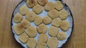 Oats cookies -bake