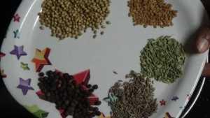 Chicken ghee roast -spices
