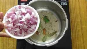 Mutton thin gravy -onion