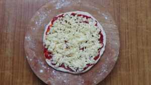 Chicken pizza -cheese