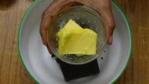 Chocolate moist cupcake -butter