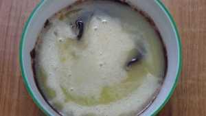 Chocolate moist cupcake -mix well