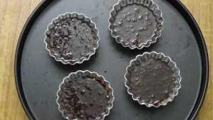 Chocolate moist cupcake -bake 180deg-10mins