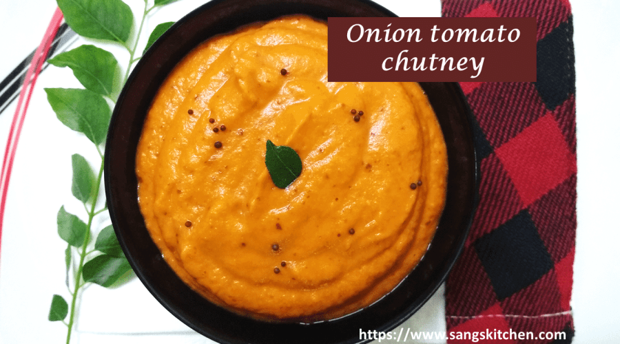Onion tomato chutney -feature