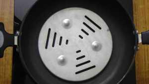 Coconut cookies -heat heavy bottom pan