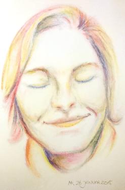Selbstportrait Januar 2016