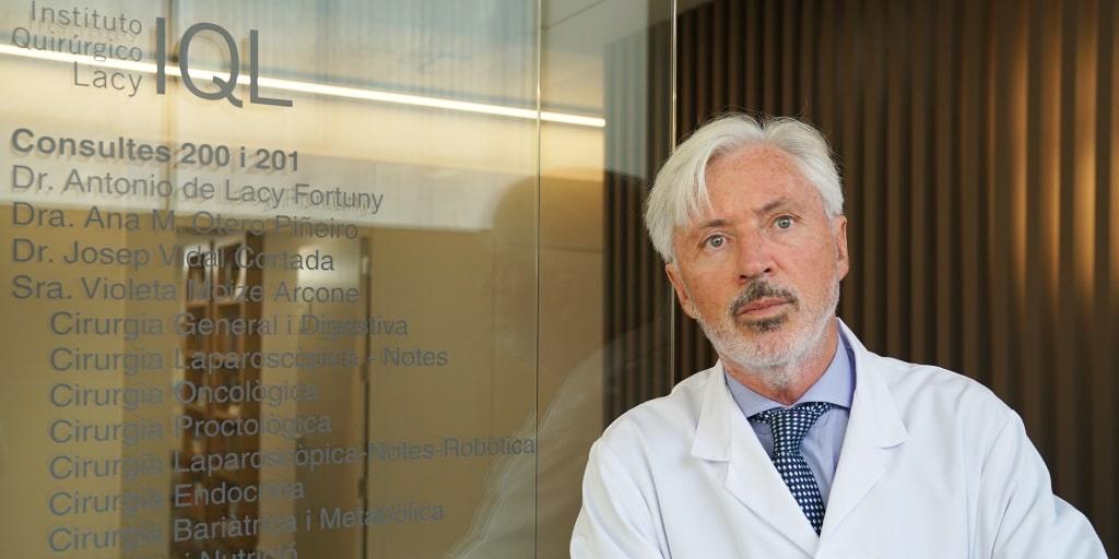 Dr. Antonio de Lacy en IQL