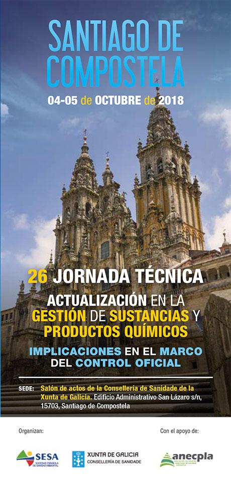 26 Jornada Técnica de la Sociedad Española de Sanidad Ambiental