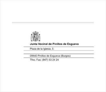 Junta vecinal de Pinillos de Esgueva (Burgos)