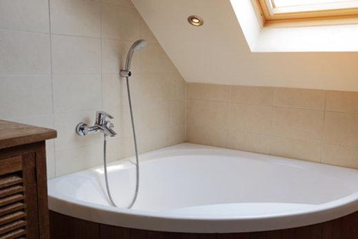Bad Verputzen Dusche Eckbadewanne Mit Dusche Bad | Ifmore