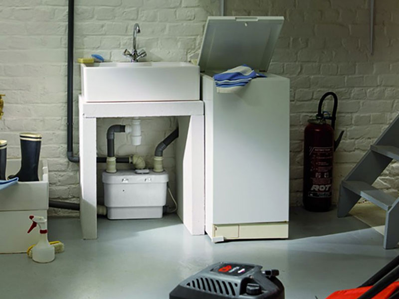 utility kitchen cart chairs on wheels sanivite | buy the saniflo for only £349 incl vat ...