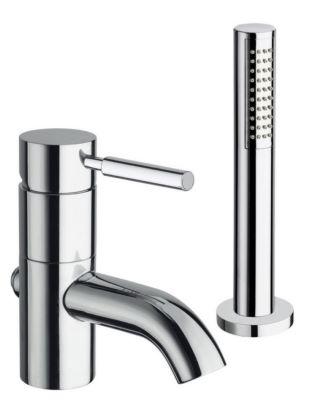 mitigeur bain douche sur gorge triverde 2 trous