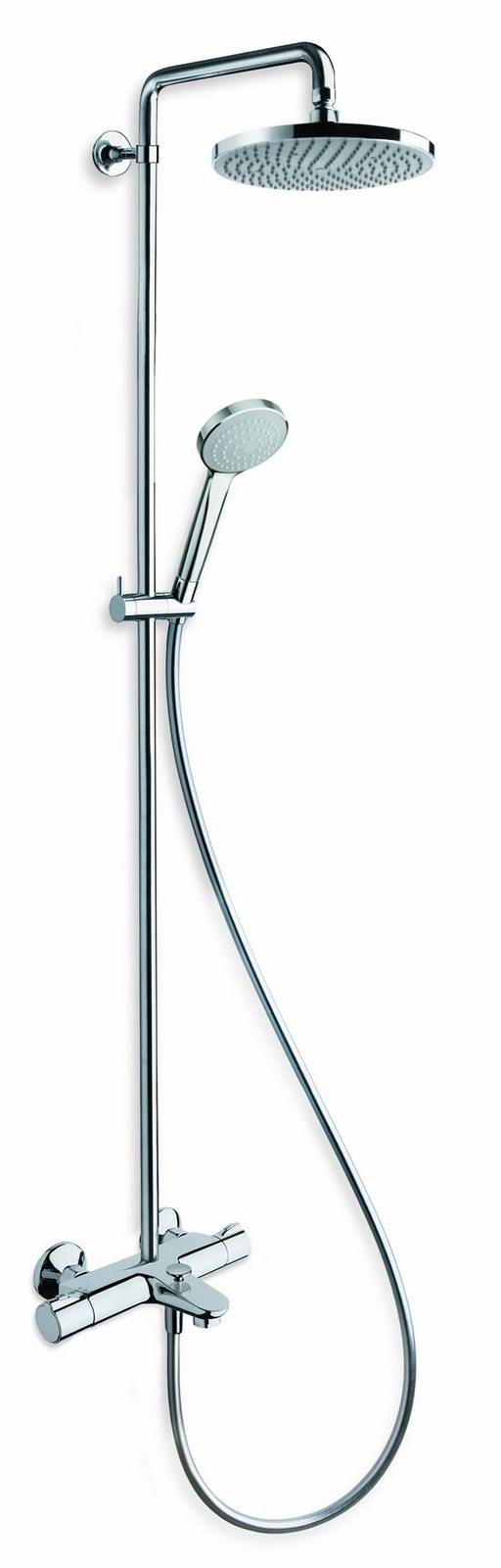 colonne de douche theta avec mitigeur thermostatique bain douche ondyna
