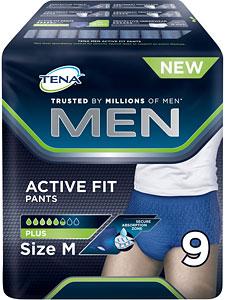 NEW TENA MAN ACTIVE FIT