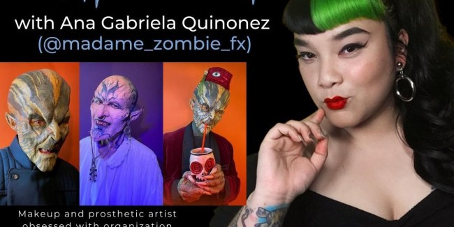 Behind the Brush with Ana Gabriela Quinonez, Makeup & Prosthetic Artist