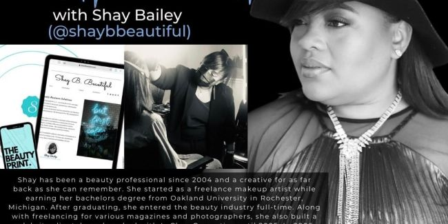 Behind the Brush Feature: Beauty Professional and Strategist, Shay B. (@shaybbeautiful)