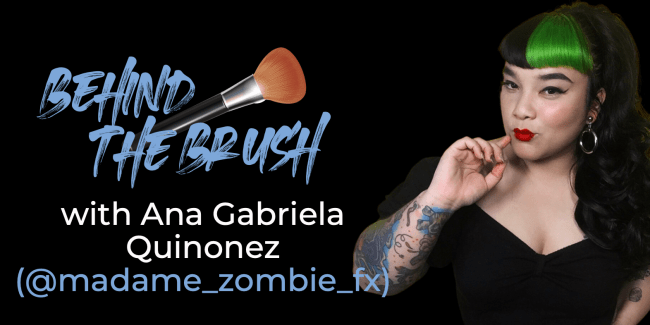 Behind The Brush with Ana Gabriela Quinonez