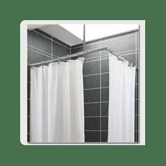 rideau de douche polyester leste