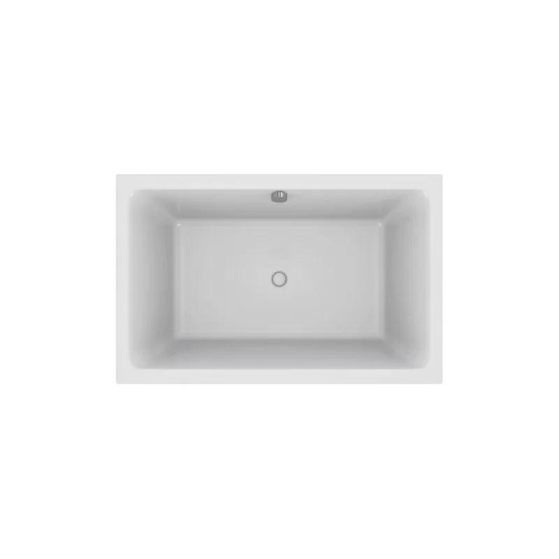 baignoire capsule jacob delafon avec vidage