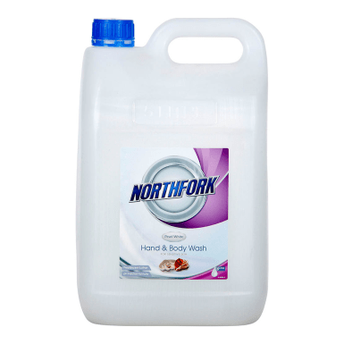 NORTHFORK HAND AND BODY WASH PEARL WHITE 5 LITRE