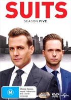 Suits S5 DVD-cover