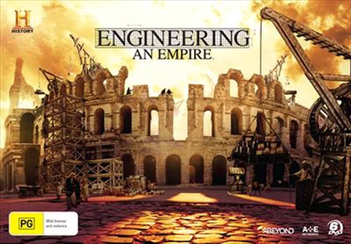 Buy Engineering An Empire On Dvd