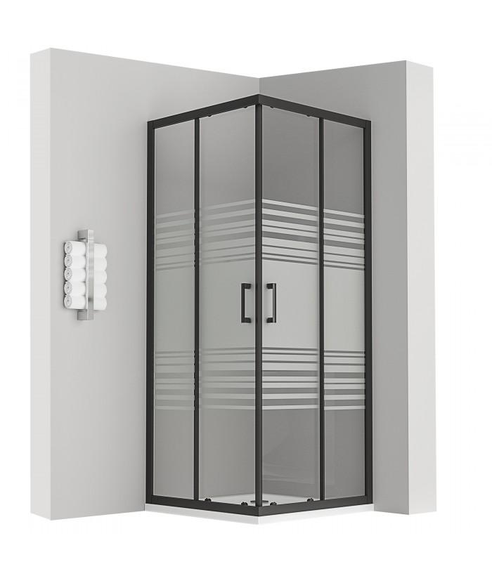 porte de douche coulissante d angle