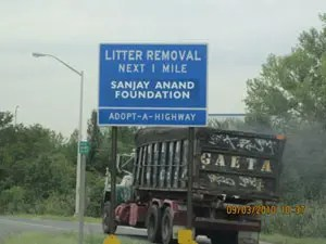 Adopt A Highway- The Sanjay Anand Charitable Foundation Sponsors One Mile of the west shore expressway in Staten Island, New York.