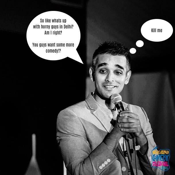 Bombing as a Comic #SanjayStandUp
