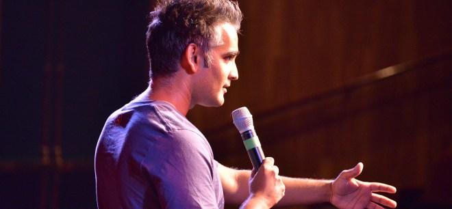 sanjay manaktala on stage