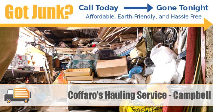 Junk Removal Campbell - Coffaro's Hauling Service