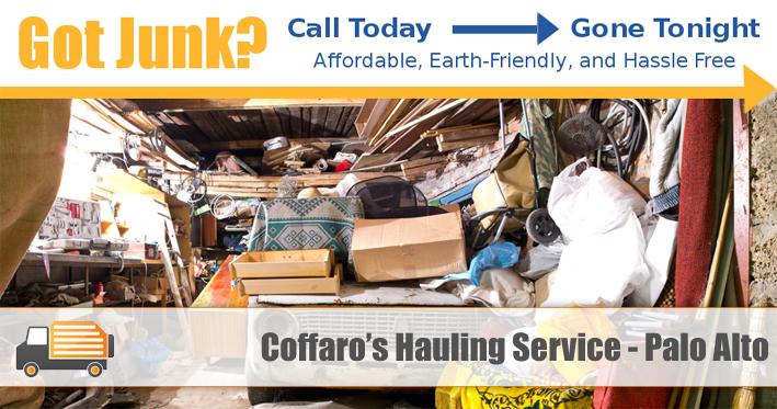 Junk Removal Palo Alto - Coffaro's Hauling Service