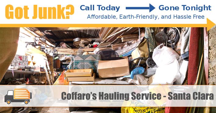 Junk Removal Santa Clara - Coffaro's Hauling Service