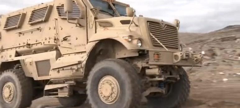 San Jose Police to Return Military-Grade Armored Vehicle