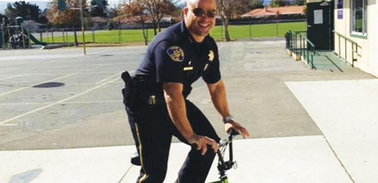 Eddie Garcia has been seen by many as the next in line to become San Joe police chief. (Photo via Twitter)