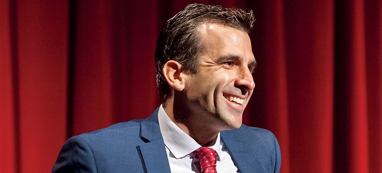 Mayor Dave Takes On Lycra Dress Code >> How Did Mayor Sam Liccardo Do In His First 100 Days San Jose Inside