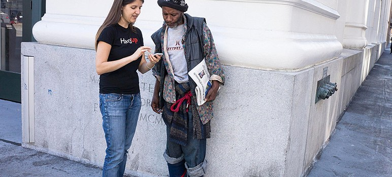 Crowdfunding App Gives Homeless a 'Hand Up' | San Jose Inside