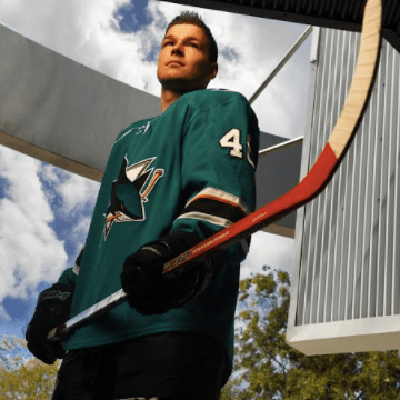 Tomas Hertl (Photo by Dave Lepori)