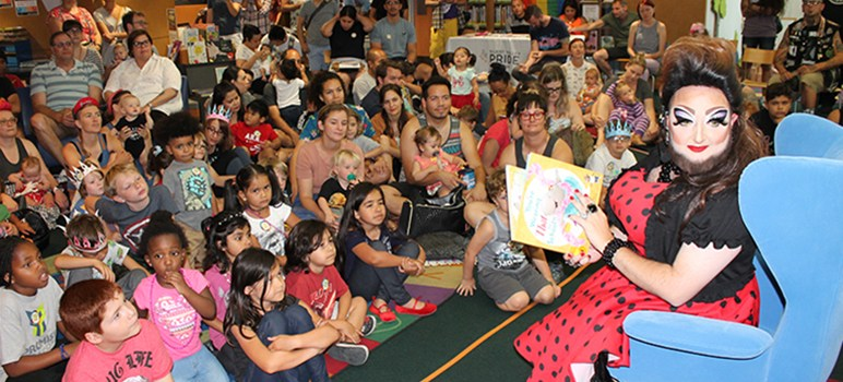 Image result for Libraries Respond: Drag Queen Story Hour