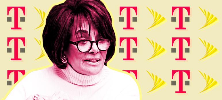 Anna Eshoo Flip-Flops on Big Telecom Mergers; Extols Virtues of Sprint, T-Mobile Tie-Up