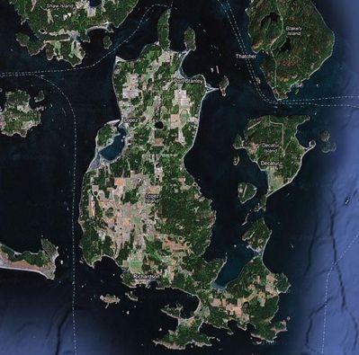 Lopez Island Map