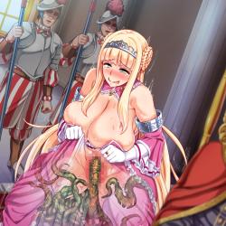 王女&女騎士Wド下品露出 〜恥辱の見世物奴隷〜 HCG (9)