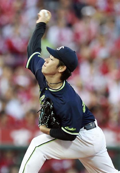 【プロ野球】広0-5ヤ 小川が8回無失點 - 産経ニュース