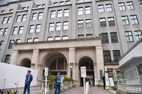 学校法人「森友学園」(大阪市)との国有地取引に関する決裁文書の改竄問題に揺れる財務省=東京・霞が関
