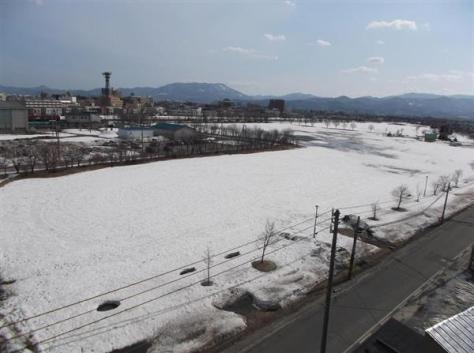 青森市が体育施設の整備計画を打ち出した青森操車場跡地