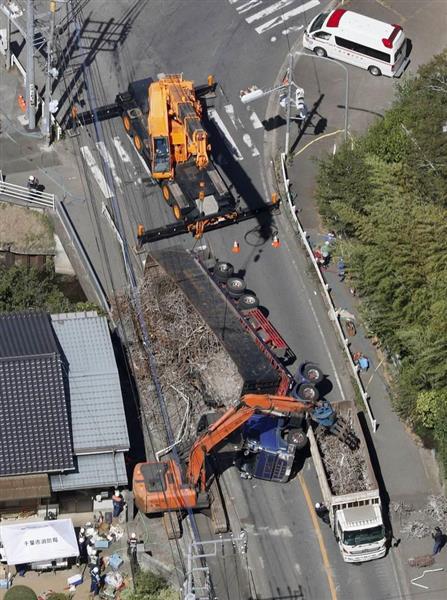 【衝撃事件の核心】千葉のトレーラー橫転3人死亡事故 なぜ過 ...