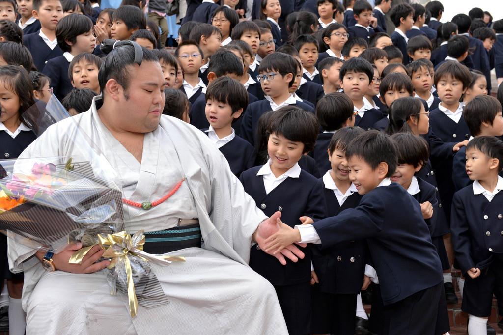 初優勝・貴景勝が母校へ凱旋 兵庫・仁川學院小 - 産経ニュース
