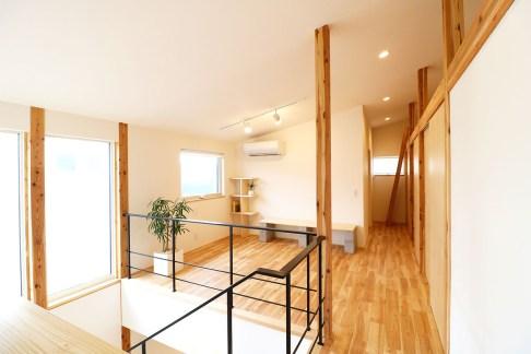 AKITA×DESIGN STANDARD300 由利本荘モデルハウス 2階 フリースペース