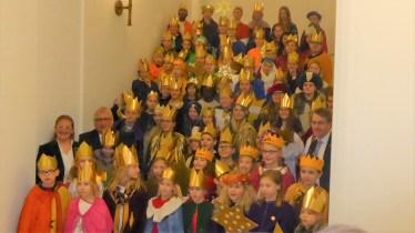 Besuch Sternsinger St. Michael Kieler Landtag 6. Januar