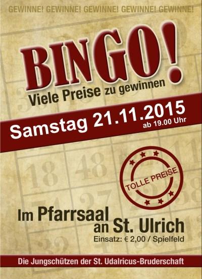 Plakat Bingo